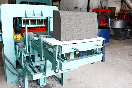 Curb-Stone Machine by Super Sonic Machinery