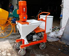 Mortar Sprayer, Shootcrete Machine, Concrete Pump