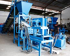 Curb Stone Making Machine