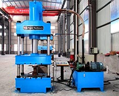 Various Hydraulic Pressing Machines .